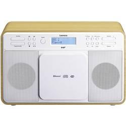 DAB+ stolní rádio Lenco DAR-040, AUX, CD, DAB+, Bluetooth, FM, USB, dub