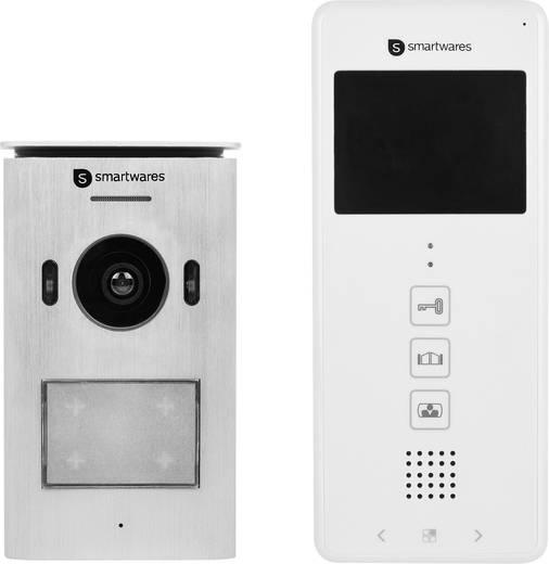 Smartwares DIC-22112 Video-Türsprechanlage 2-Draht Komplett-Set 1 ...