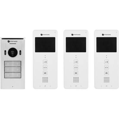 smartwares dic 22132 video t rsprechanlage 2 draht. Black Bedroom Furniture Sets. Home Design Ideas