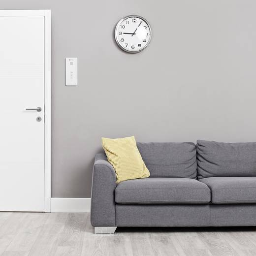 t rsprechanlage 2 draht komplett set smartwares dic 21112. Black Bedroom Furniture Sets. Home Design Ideas