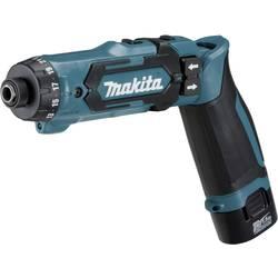 Aku vŕtací skrutkovač Makita DF012DSE DF012DSE, 7.2 V, 1.5 Ah, Li-Ion akumulátor
