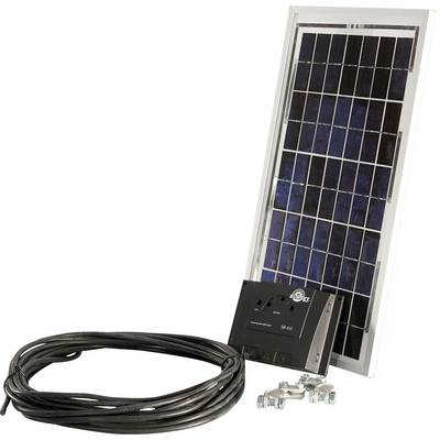 sunset pv 10 10410 solar set 10 wp inkl anschlusskabel. Black Bedroom Furniture Sets. Home Design Ideas