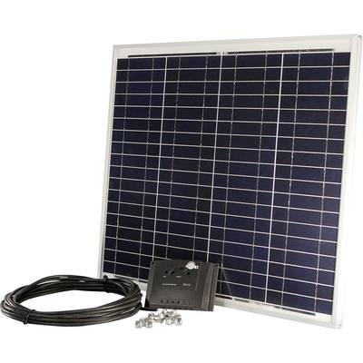sunset pv 45 10455 solar set 45 wp inkl anschlusskabel. Black Bedroom Furniture Sets. Home Design Ideas