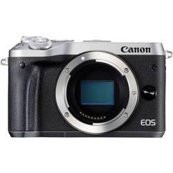 Systémový fotoaparát Canon EOS M6, 24.2 Megapixel, strieborná