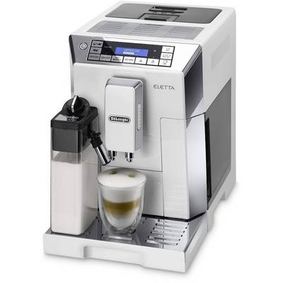 Kaffeevollautomat DeLonghi ECAM 45.766.W - Eletta Cappuccino 0132215248 Weiß Preisvergleich