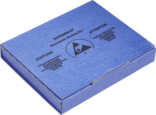 ESD-Schachtel (L x B x H) 100 x 120 x 15 mm leitfähig Wolfgang Warmbier 5510.909