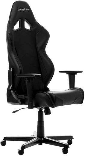 gaming stuhl dxracer racing r0 schwarz. Black Bedroom Furniture Sets. Home Design Ideas