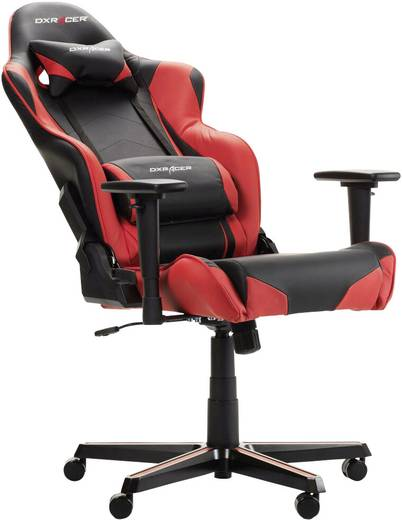 gaming stuhl dxracer racing r0 schwarz rot kaufen. Black Bedroom Furniture Sets. Home Design Ideas