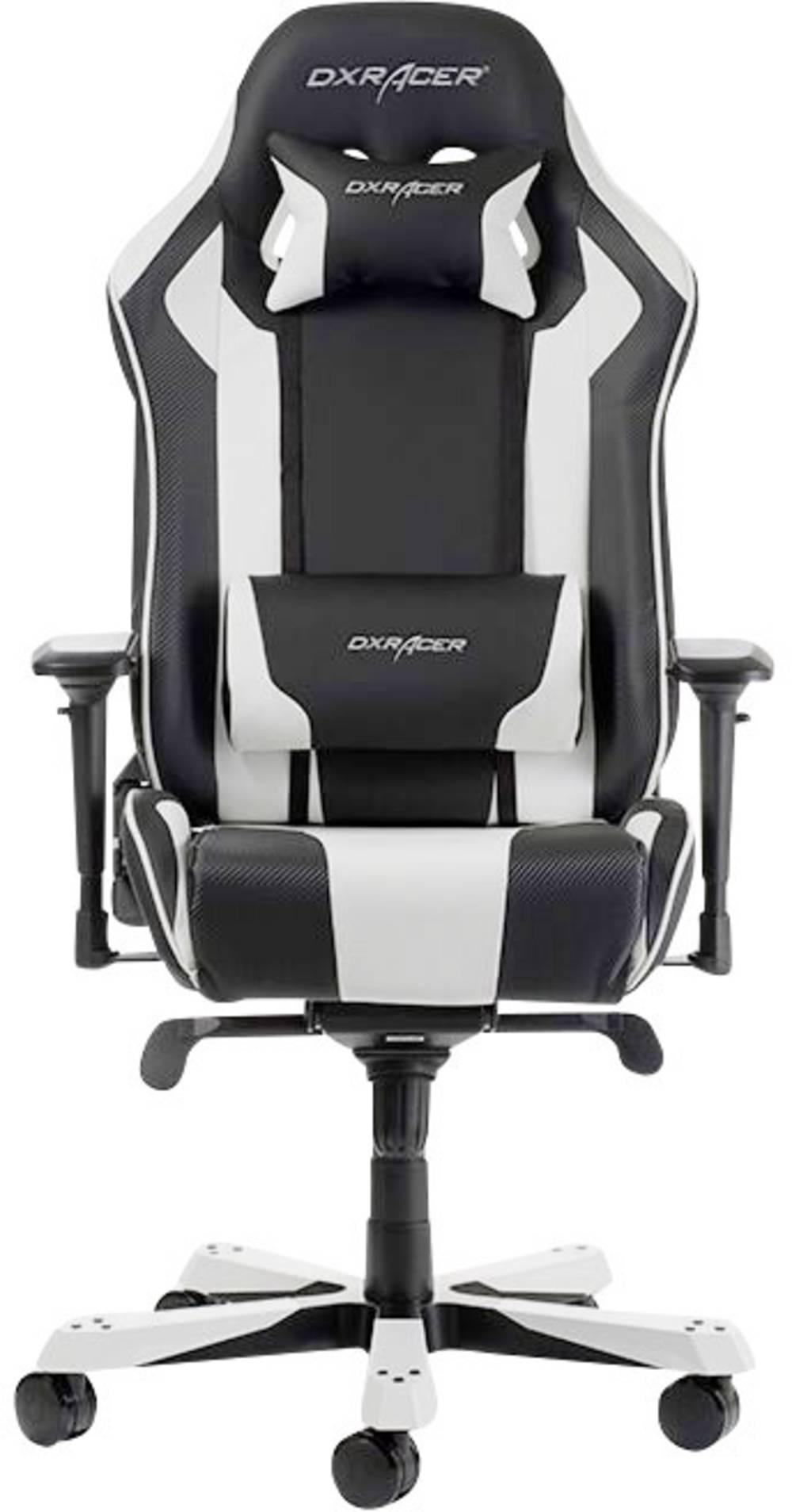 Gaming Stuhl Dxracer King K06 Schwarz Weiss Im Conrad Online Shop