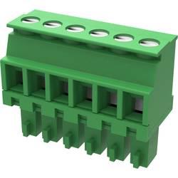 Zástrčkový konektor na kábel Degson 15EDGKA-3.81-10P-14-100AH, 22 mm, pólů 10, rozteč 3.81 mm, 100 ks