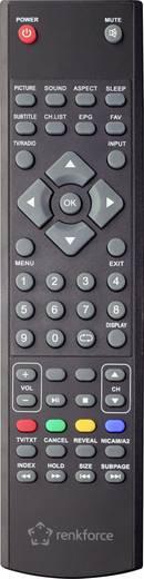 LED-TV 47 cm 18.5 Zoll Renkforce RF-LEDTV18.5HDR EEK A HD ready, Triple DVB-T2/C/S2 Tuner Schwarz