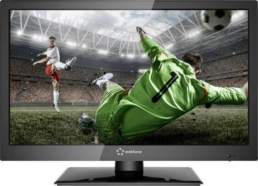 Renkforce RF-LEDTV18.5HDR LED-Monitor 47 cm (18.5 Zoll) EEK A 1366 x 768 Pixel HD 720 p AV, YPbPr, VGA, Audio, stereo (