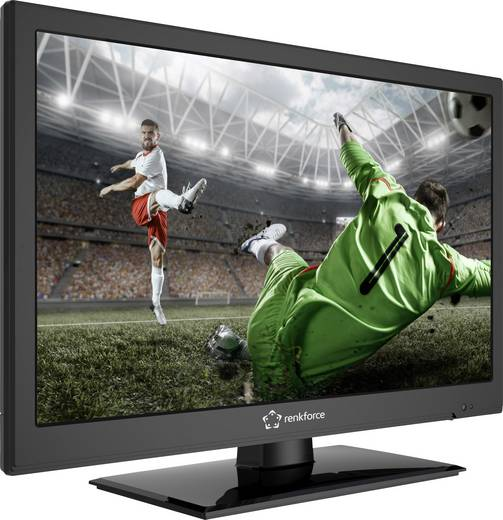 Renkforce RF-LEDTV18.5HDR LED-TV 47 cm 18.5 Zoll EEK A DVB-T2, DVB-C, DVB-S, HD ready, CI+ Schwarz