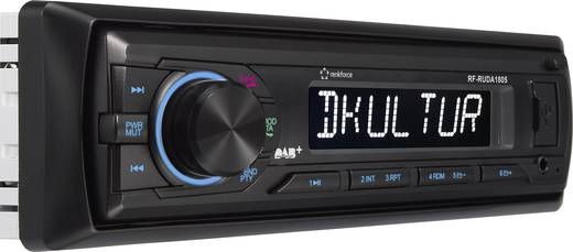 renkforce rudab 1805 autoradio dab tuner inkl dab. Black Bedroom Furniture Sets. Home Design Ideas