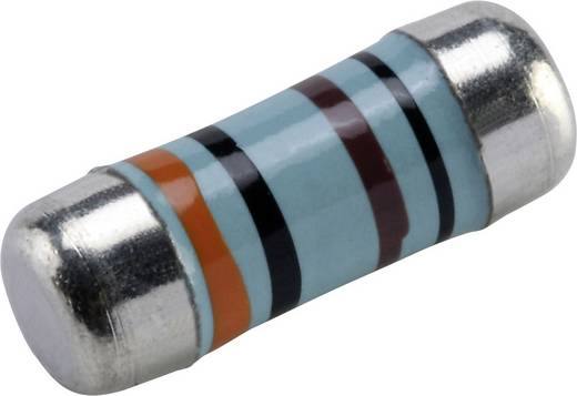 Metallschicht-Widerstand 16 Ω SMD 0207 1 W 1 % 50 ppm Viking Tech CSRV0207FTDT0160 2000 St.