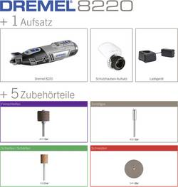 Akumulátorový multifunkční nástroj Dremel 8220-1/5 F0138220JA, akumulátor