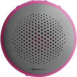 Bluetooth® reproduktor Boompods Fusion hlasitý odposlech, vodotěsný, růžová