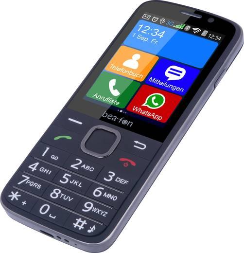 beafon SL820 KaiOS Senioren-Handy mit Ladestation, SOS