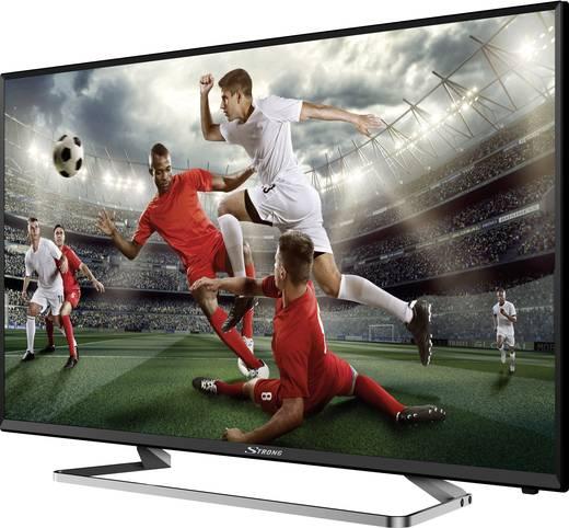 Strong 40FZ4003 LED-TV 101 cm 40 Zoll EEK A CI+, DVB-C, DVB-S2, DVB-T2, Full HD Schwarz
