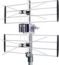 Image of Maximum UHF2 Passive DVB-T/T2-Dachantenne Außenbereich Silber