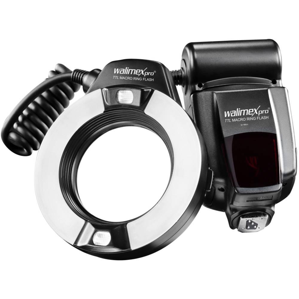 Ringflitser Walimex Pro Geschikt voor: Nikon Richt