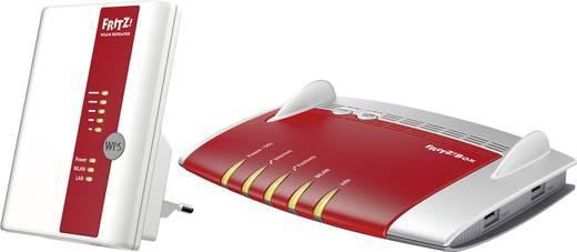 AVM FRITZ!Box 7490 inkl. AVM FRITZ!WLAN Repeater 450E WLAN Router mit Modem Integriertes Modem: ADSL, ADSL2+, VDSL 2.4 G