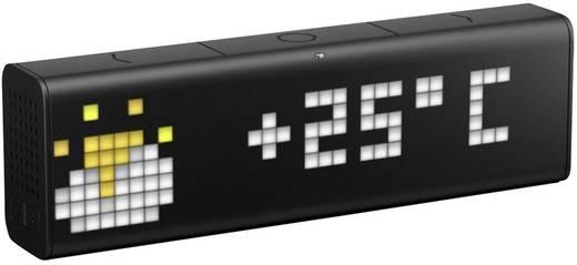 LaMetric Time - smarte WLAN-Uhr Schwarz