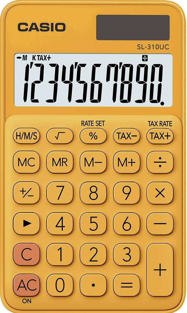 19 x 10 x 1,2 cm Taschenrechner mit Standardfunktionen weiß
