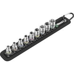 """Sada nástavcov pre nástrčný kľúč, vonkajší šesťhran Wera 8790 HMA 05003883001, 1/4"""" (6,3 mm), chrom-vanadová ocel, 9-dielna"""