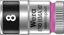 """Vložka pro nástrčný klíč, vnější šestihran Wera 8790 HMA 05003723001, 1/4"""" (6,3 mm), 8 mm, chrom-vanadová ocel"""