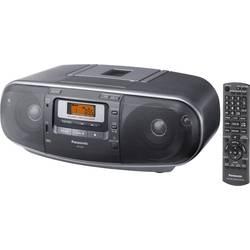 FM rádio s CD prehrávačom Panasonic RX-D55AEG, AUX, CD, USB, UKW, sivá