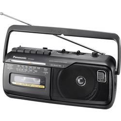N/A Panasonic RX-M40DE, kazeta, čierna