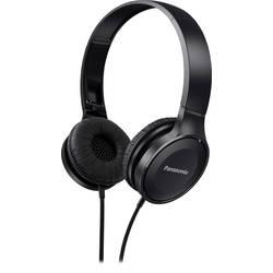 Cestovné slúchadlá On Ear Panasonic RP-HF100ME RP-HF100ME-K, čierna