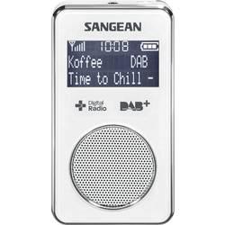 DAB+ kapesní rádio Sangean DPR-35, DAB+, FM, bílá