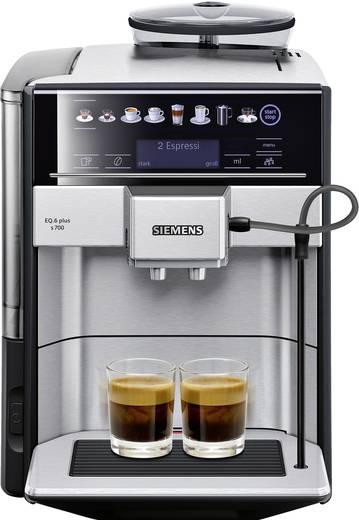 Siemens EQ.6 plus s700 TE657503DE Kaffeevollautomat Edelstahl, Schwarz