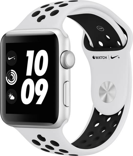 Apple Watch Series 3 Nike+ 38 mm Aluminiumgehäuse Silber ...