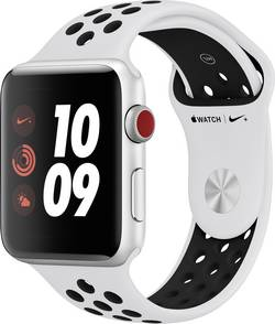 Apple Watch Series 3 Nike+ Cellular 42 mm argent