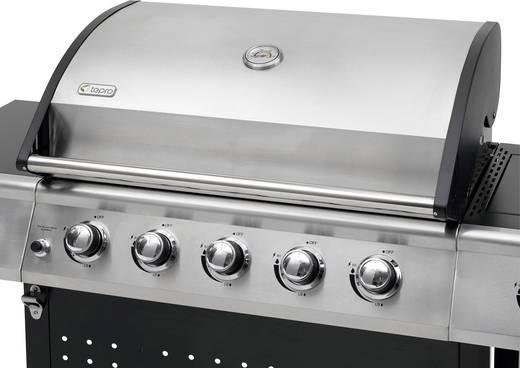 Brenner Für Gasgrill : Tepro garten radcliff grillwagen gas grill 5 brenner schwarz