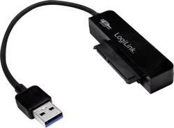 Adaptateur USB 3.0 LogiLink AU0012A - [1x SATA femelle 7 pôles - 1x USB 3.0 mâle type A] - 145 mm - noir