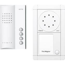 Kabelový domovní telefon Ritto by Schneider RGE1891370 3857203, bílá