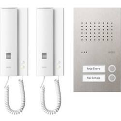 Kabelový domovní telefon Ritto by Schneider 1891220 3117930, bílostříbrná