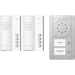 Kabelový domovní telefon Ritto by Schneider RGE1891420 3857204, stříbrná/bílá