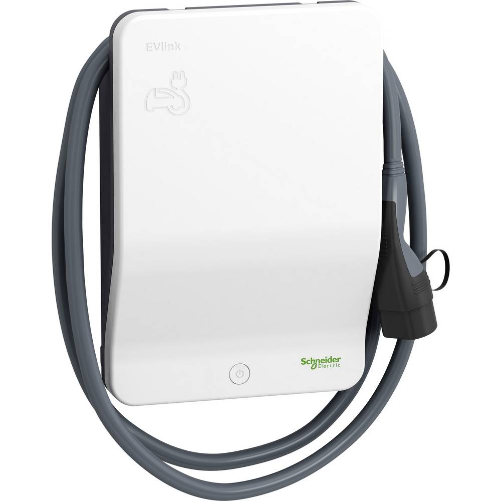 schneiderelectric Schneider Electric EVB1A22PCRI EVlink wallbox eMobility laadstation Type 2 Mode 2 32 A 22 kW RFID