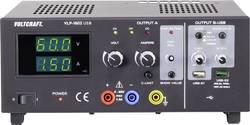 Laboratorní zdroj s nastavitelným napětím VOLTCRAFT VLP-1602 USB, 0 - 60 V, 0.01 - 1.5 A, 123 W