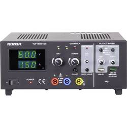 Laboratórny zdroj s nastaviteľným napätím VOLTCRAFT VLP-1602 USB, 0 - 60 V, 0.01 - 1.5 A, 123 W