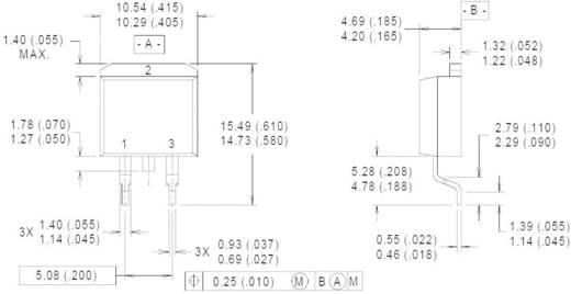 Standarddiode Vishay 10ETF02SPBF TO-263-3 200 V 10 A