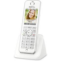 Bezdrôtový VoIP telefón AVM FRITZ!Fon C4 International, biela, strieborná