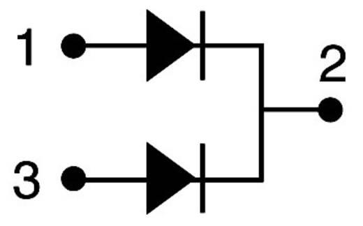 Vishay Schottky-Diode - Gleichrichter VS-MBR2045CTPBF TO-220AB 45 V Array - 1 Paar gemeinsame Kathode