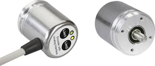 Posital Fraba Absolut Drehgeber 1 St. UCD-S401B-1212-R10A-2RW Magnetisch Synchronflansch 36 mm