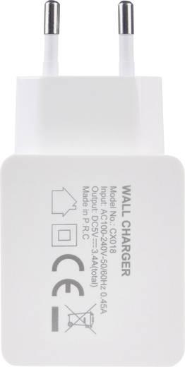Xtorm by A-Solar Power wallplug CX018 USB-Ladegerät Steckdose Ausgangsstrom (max.) 5400 mA 2 x USB, USB-C™ Buchse